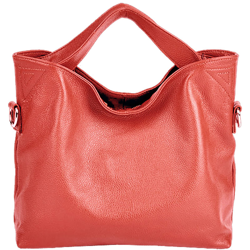 New classic leather soft leather large-capacity handbag Womens leather cross-section zipper lace motorcycle bagNew classic leather soft leather large-capacity handbag Womens leather cross-section zipper lace motorcycle bag