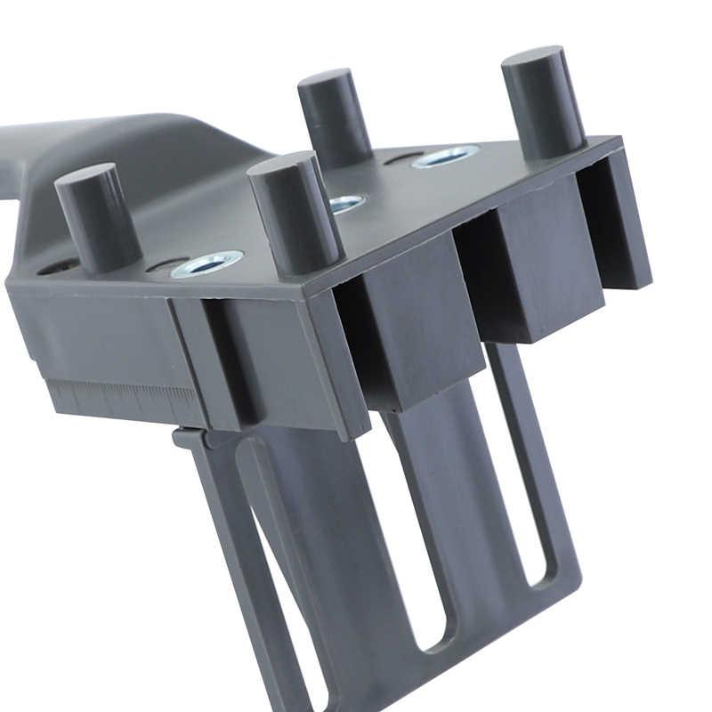 ダボジグ 6 8 10 ミリメートルの木材のドリルポケット穴ジグキットとボックス厚み ABS プラスチックハンドヘルドシャワー穴木工用