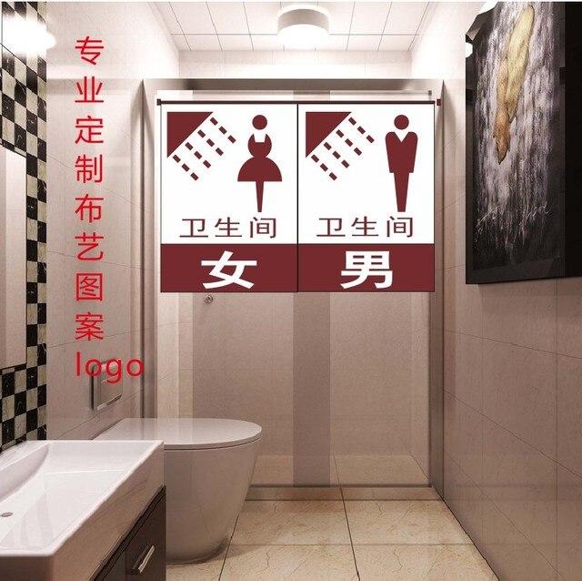 Japanese Toilet Door Fitting Room Pool Locker Room Curtain Curtain