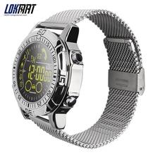 LOKMAT Smart watch Waterproof Outdoor Sport digital clock Relogio Masculino Bluetooth Smartwatch Men watch For ios android phone