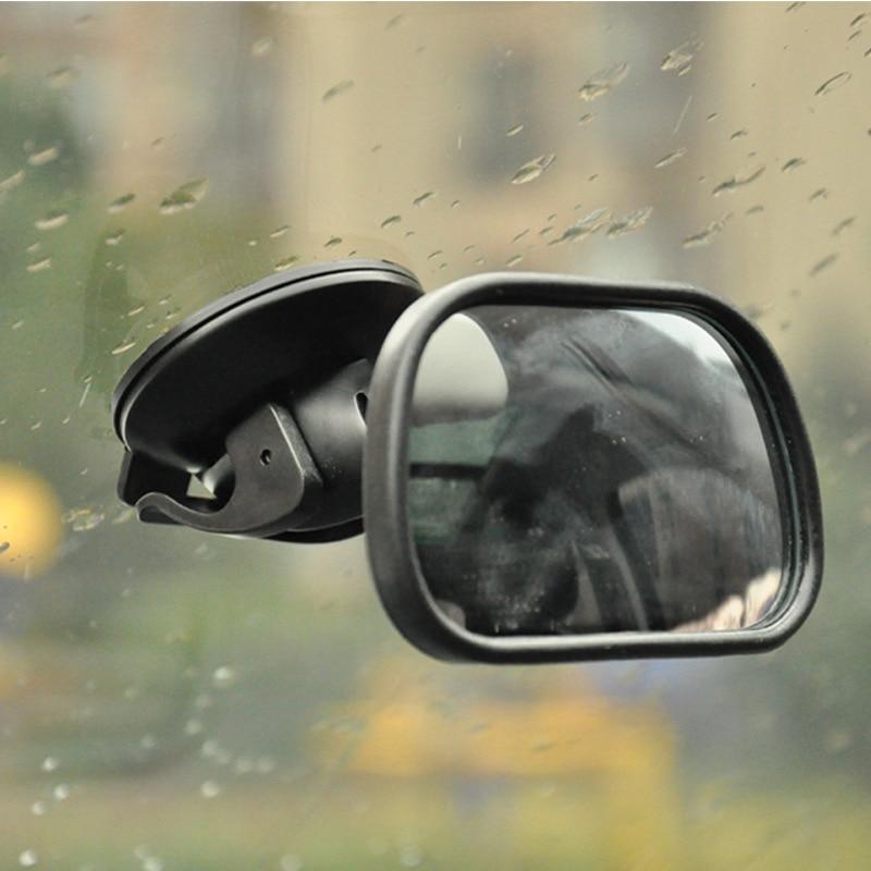 Горячая продажа 360 Градусов Повернуть Акриловые Всасывания Автомобиль Внутри Мини Зеркала Ребенка Зеркало Заднего Вида Обратный Безопасности Зеркало