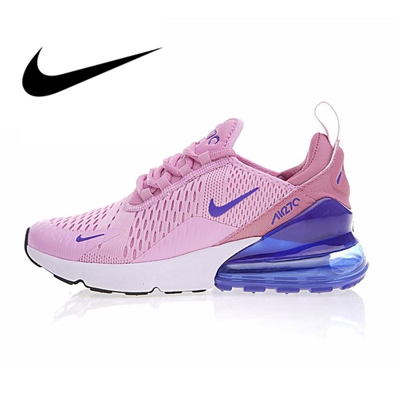 Chaussures de course Nike Air Max 270 pour femmes chaussures de sport en plein Air respirant chaussures de Designer athlétique 2019 nouveauté AH8050