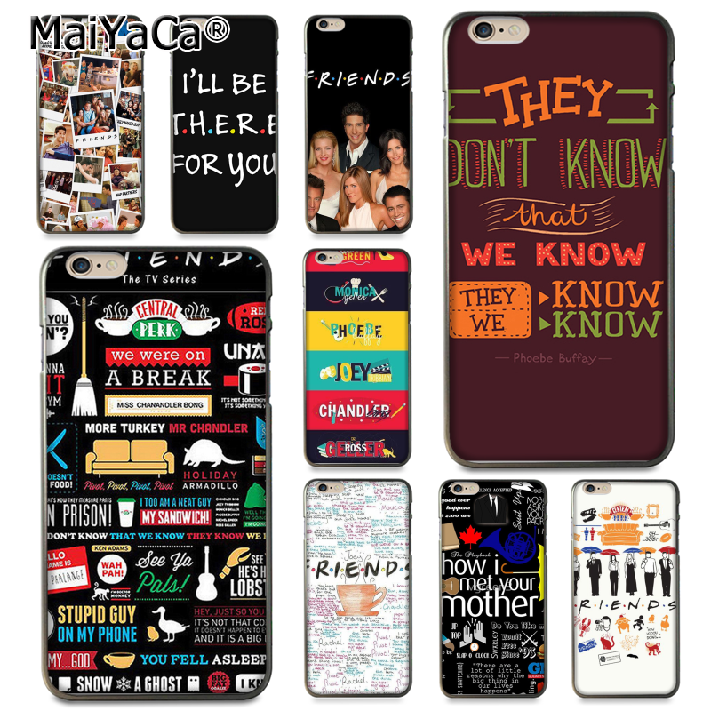 promo code de25a ebc96 US $1.25 37% OFF|MaiYaCa For iphone 7 6 X Case Friends TV Show Series How I  Met your Mother Coque Phone Case for iPhone 8 7 6 6S Plus X 5 5S SE-in ...