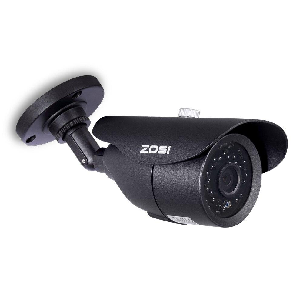 ZOSI HD 960 H 1000TVL CMOS 42 pcs Leds IR de Alta Resolução Dia/noite À Prova D' Água Interior/Exterior CCTV câmera com Suporte