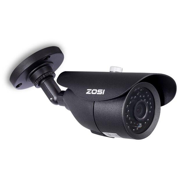 ZOSI HD 960H 1000TVL CMOS 42 pièces IR Leds haute résolution jour/nuit étanche caméra de vidéosurveillance intérieure/extérieure avec support