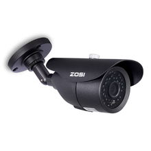 ZOSI HD 960H 1000TVL CMOS 42pcs IR Leds High Resolution Day/night Waterproof Indoor / Outdoor CCTV Camera with Bracket