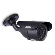 Zosi hd 960h 1000tvl cmos 42 pces ir leds de alta resolução dia/noite impermeável indoor/outdoor cctv câmera com suporte