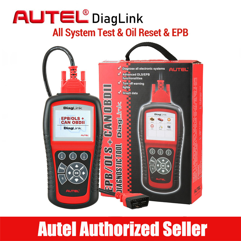 Autel Diaglink OBD2 Scanner Car Diagnostic Tool All System Automotive Code Reader Scaner Auto Diagnostics Scan