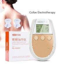 Cofoe düşük frekanslı elektroterapi masajı/ev fizyoterapi cihazı/transkutan elektrik sinir stimülasyonu ağrı kesici