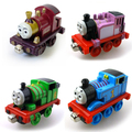 Tx 4Pcs/lot Magnetic Diecast THOMAS and friend lady Rosie Percy The Tank Engine lead magnetic metal train children gift toy