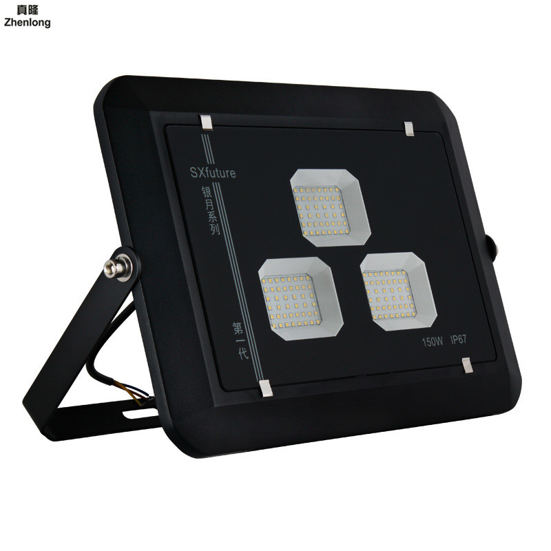 LED Floodlight 110V/220V LED FloodLight 100W 150W 200W Reflector LED Spotlight Outdoor Lighting Waterproof IP67 Aluminum Street