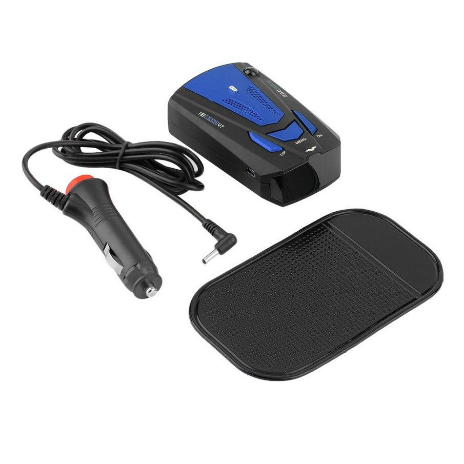 360 Full Band Scanning GPS Laser Radar Speed Detector Voice Alert LED Display V3