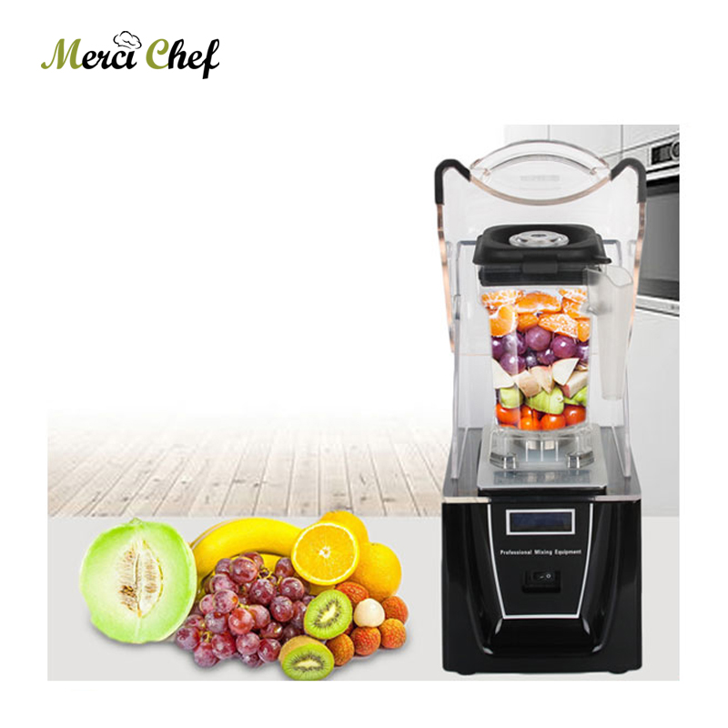 BPA Free 1.5L 1800W Commercial Blender Mixer Juicer Power Food Processor Smoothie Bar Fruit Electric Blender Smoothie Maker