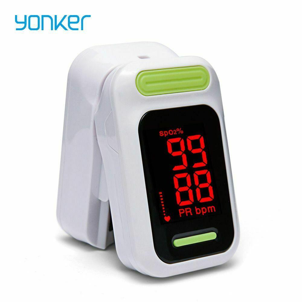 Светодиодный экран цифровой портативный пульсиокислитель пальцевой Пульсоксиметр для домашнего ухода