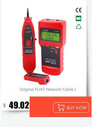 Verificador de cabos de rede, localizador de