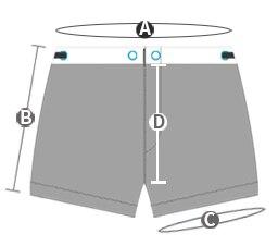 de natação esportes calções de biquíni náilon