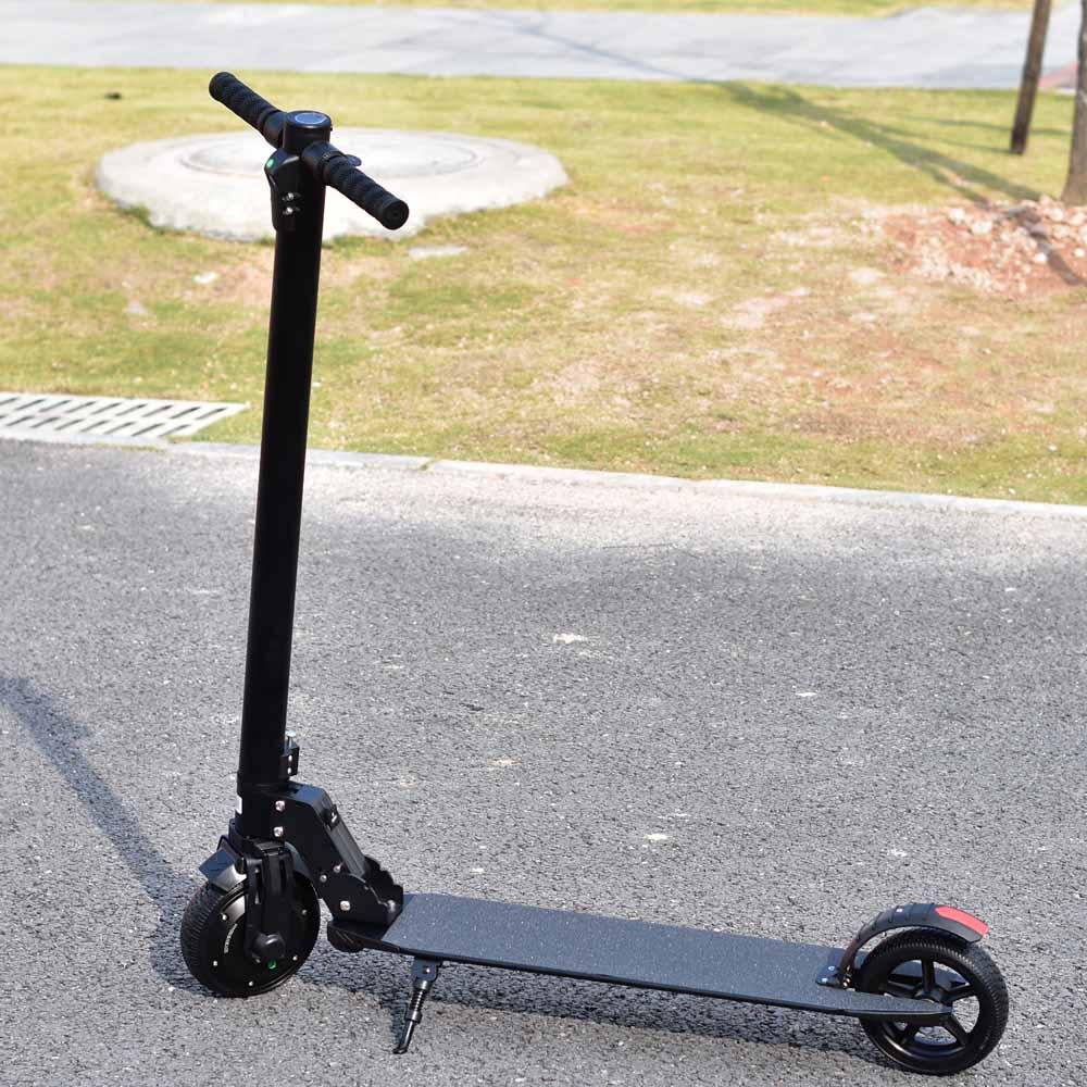 Elektro-scooter Kleine Elektrische Roller Mobilität 6,5 Zoll Solid Reifen Hoverboard