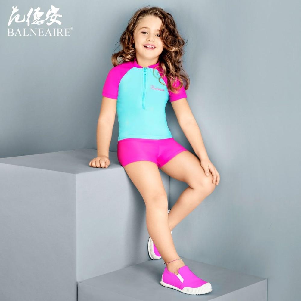 Blaneaire Girls Beach Dress Kids Swimwear 3 12 Year Old Swimsuit Free Shipping On Aliexpresscom -2844