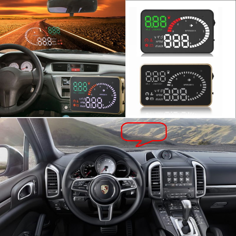 Liislee Car HUD Head Up Display For Porsche Cayenne 911 996 997 Macan Boxster- Safe Driving Screen Projector / OBD II Connector 2018 new classic bucket messenger bags popular tote lady split leather handbags women chains shoulder bags bolsas qn250