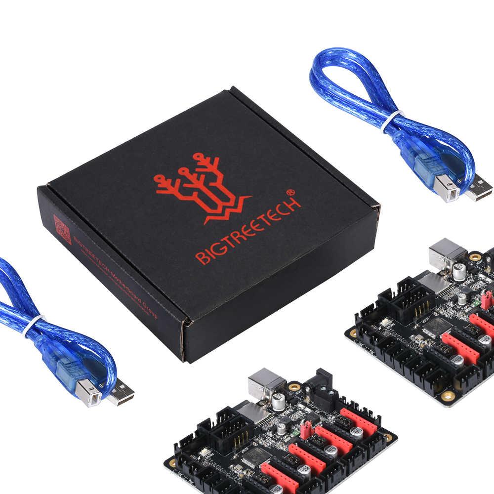 BIGTREETECH SKR mini V1.1 Placa de Control 32 bits 3D piezas de impresora TMC2208 TMC2130 spi controlador Reprap SKR V1.3 MKS GEN L