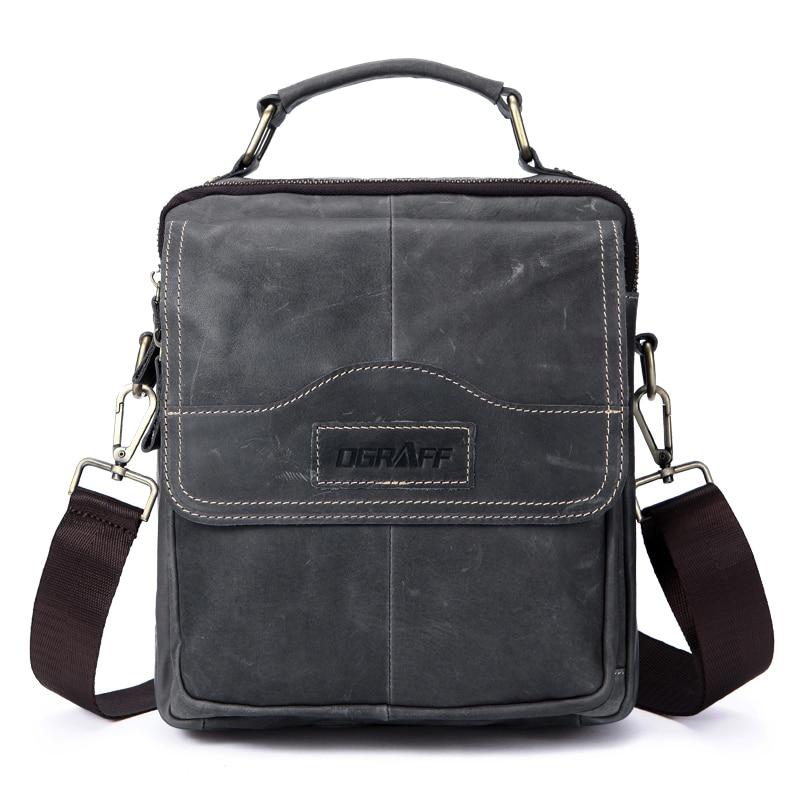 OGRAFF Genuine Leather Men Bag Men Messenger Bags Small Shoulder Bags Crossbody Bag Men s Leather