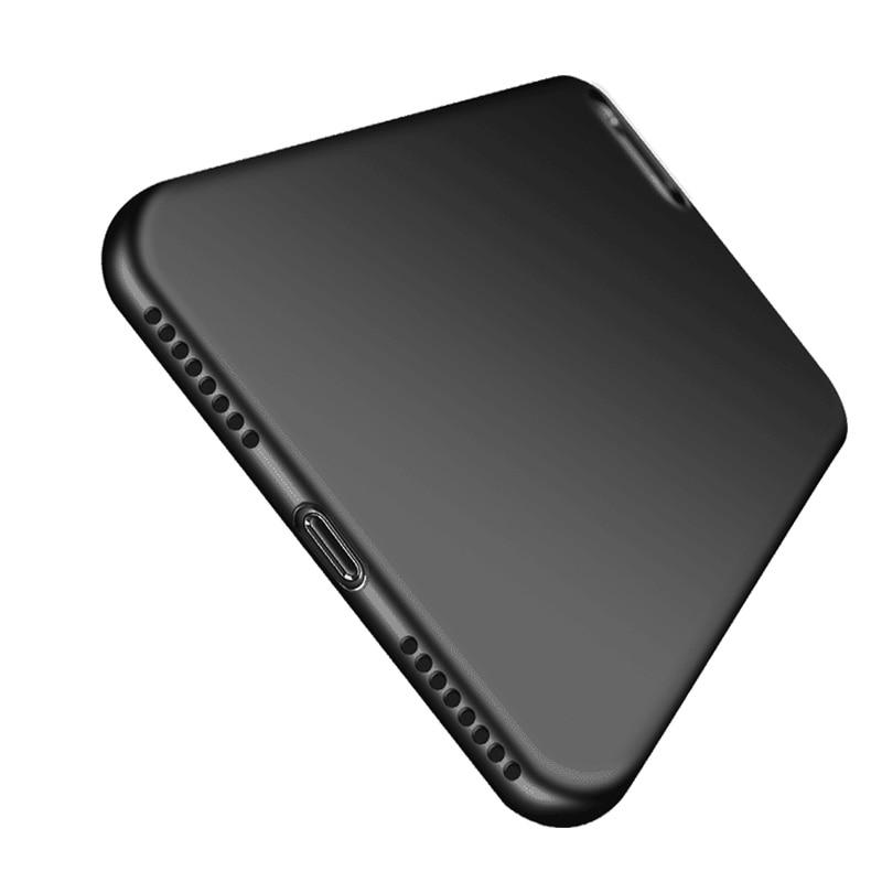 Nový luxusní ultra tenký bonbón barevné tenké měkké TPU silikonové pouzdro pro Apple iphone 7 8 7Plus 8plus zadní kryt telefonu