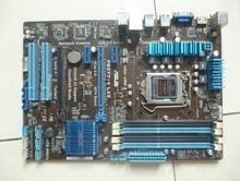 Utilisé pour Asus P8Z77-V LX2 Carte Mère De Bureau Z77 Socket LGA 1155 i3 i5 i7 DDR3 32G SATA3 USB3.0 ATX