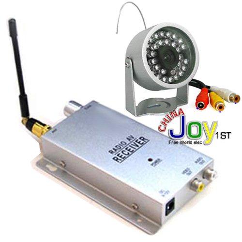 30LED COMS SHARP 1 2G wireless IR Color Security CCTV Camera Receiver