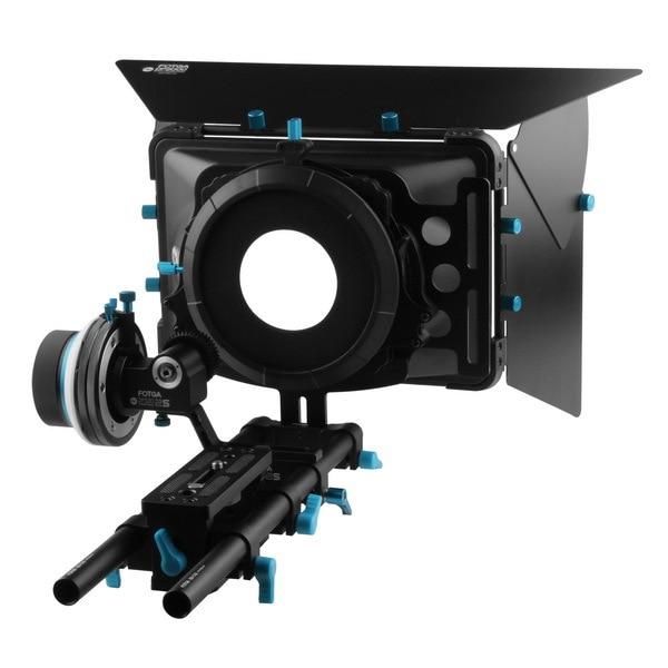 FOTGA DP500IIS Follow Focus+DP3000 M2 Baseplae Support Rig+DP3000 M2 Mattebox Set for A7II A7R II A7S II 5DIII BMCC BMPCC D7100