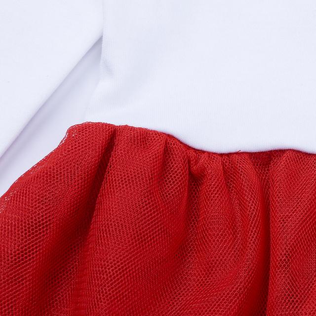 Children's Clothing Set for Girls Deer Printed T-shirt Dress+ Pants Pajamas Children's Clothing Sets Christmas Costumes ST296