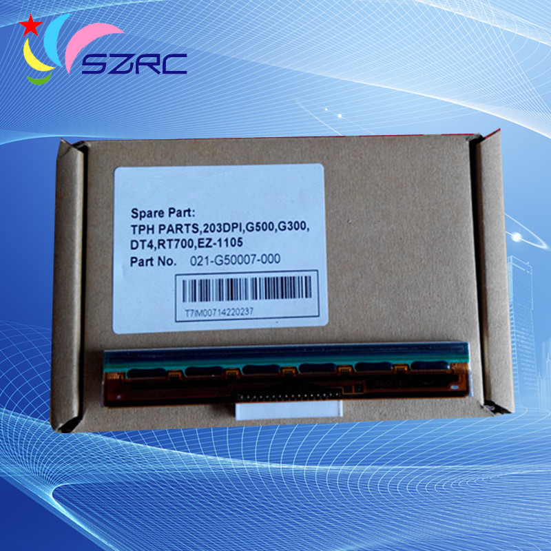 High Quality New Original Printhead print head Compatible For GODEX G500 G300 DT4 RT700 EZ-1105 203dpi Printer Head high quality original new printhead compatible for fujitsu dl6400 dl6600 print head