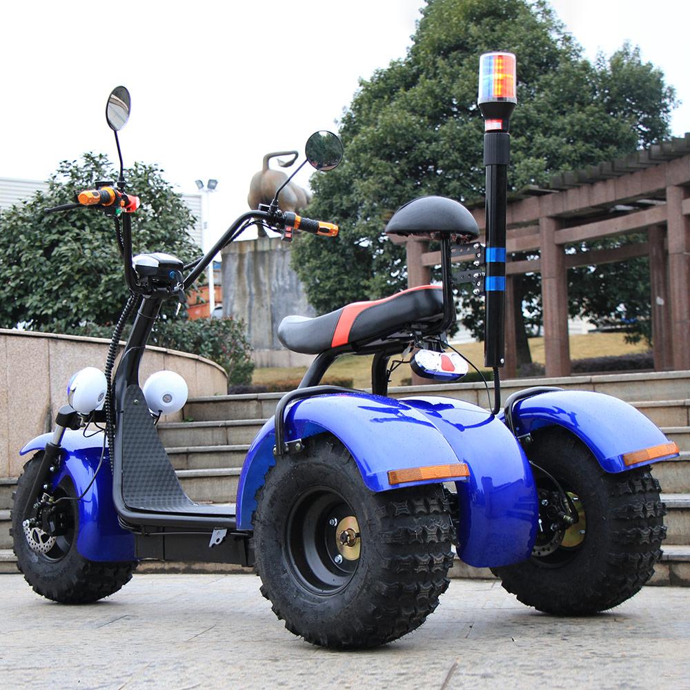 3 roues Auto équilibrage Scooters Chariot Électrique amortisseur moto électrique Adulte scooter Motocross moto