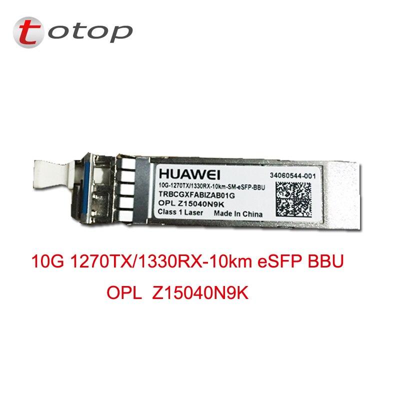 5pcs/lot for hua wei 10G SFP Module 1270TX/1330RX 10KM ESFP BBU single fiber SM5pcs/lot for hua wei 10G SFP Module 1270TX/1330RX 10KM ESFP BBU single fiber SM