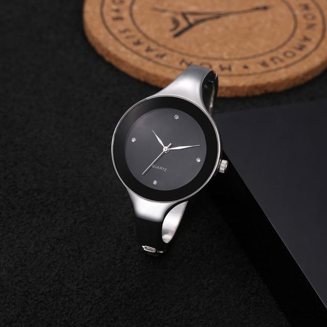 Hot Sale Luxury Crystal Watches Women Watches Full Steel Bracelet Watch Ladies Watch Hour Clock montre femme relojes mujer 2017