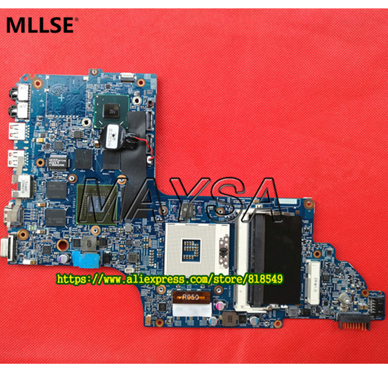 Genuine 682040-001 HM77 650M/2G Discrete MotherBoard Fit for HP DV7 DV7-7000 series Notebook PC MB, Full tested 744020 001 fit for hp probook 650 g1 series laptop motherboard 744020 501 744020 601 6050a2566301 mb a04