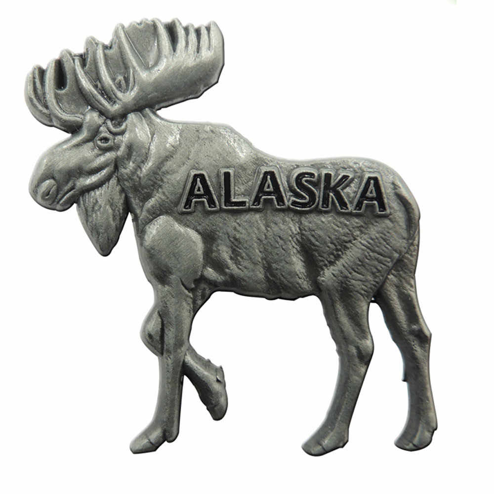 Kustom Logam 3D Lencana murah OEM Antik Domba Perak Logo Badge hot penjualan old perak plating kerah pin lencana