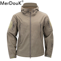 Mens Military Camouflage Jacket V4 0 Lurker Shark Skin Soft Shell Windbreakers Waterproof Tactical Clothing Jacket