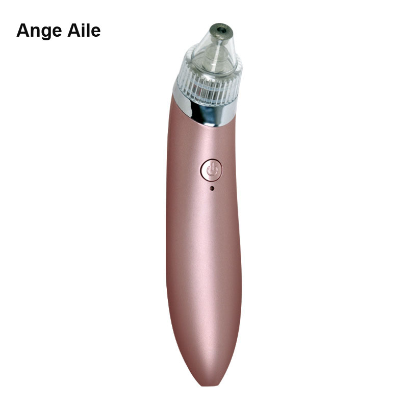 Ange Aile Comedo Blackhead Vacuum Suction Diamond Removal Wrink Acne Pore Peeling Face Clean Facial Skin Care Beauty Machine