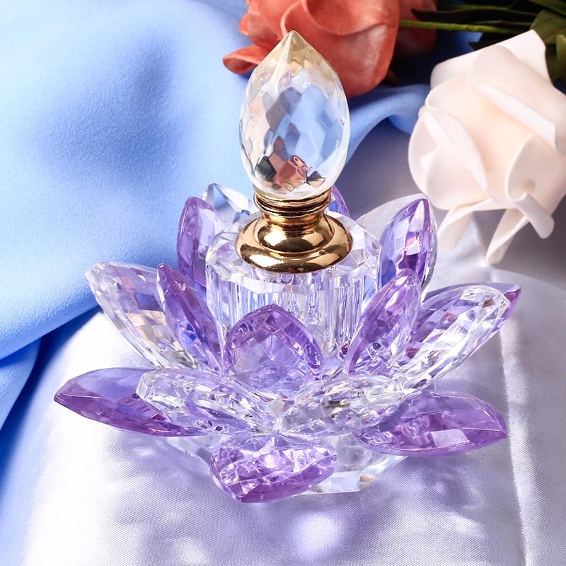 1 дана Crystal Lotus Flower Figurines Парфюмерлік - Үйдің декоры - фото 4