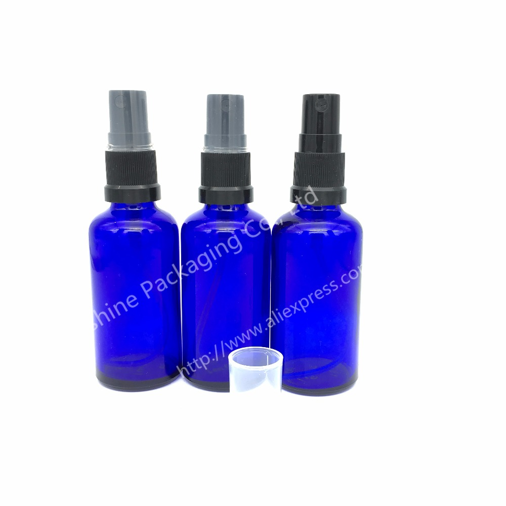 Ml Blue Glass Spray Bottles