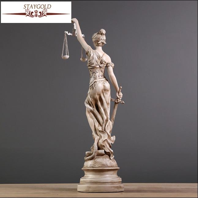 Ежелгі грек богини Әділдік Фемида - Үйдің декоры - фото 3