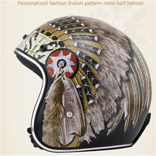 2019  Top hot 3/4 helmet motorcycle half open face casque motocross SIZE: S M L XL XXL,Capacete
