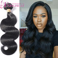 7a Virgin Brazilian Body Wave With Closure 4 Bundles Natural Body Wave Bundles With Closure Brazilian Virgin Body Wave Hair Best