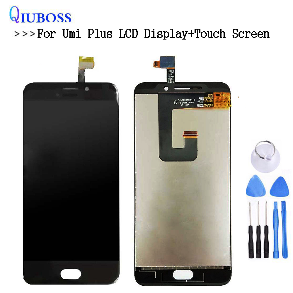 For 5.5'' UMI Plus LCD Display+Touch Screen Digitizer Assembly+Free Tools