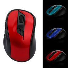 Reliable 2017 hot ganing mouse 2.4GHz Wireless Gaming Mouse USB Receiver Pro Gamer For PC Laptop Desktop