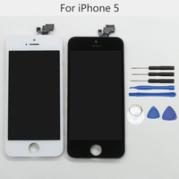 100 Tested High Quality LCD Screen For Apple IPhone 5 No Dead Pixel 4 Display Replacement