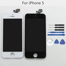 """100% Testé Haute Qualité LCD Écran pour Apple iPhone 5 Pas de Dead pixel 4 """"affichage remplacement avec outil kits LIVRAISON GRATUITE"""