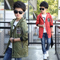 2017 Fashion Coats for Boys Spring Jackets Autumn Children Hoody Outerwear Kids Fall Sports Clothing Active Infant Boys Clothes