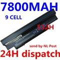 7800MAH 9cell Aspire One 532h UM09H41 UM09H71 AO532h-2Bb AO532h-W123 UM09G75 UM09G41 NAV50 AO532h-2223 laptop notebook battery