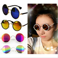 Now Women Classic Fashion Round Vintage Retro Style Classical Metal Frames Sunglasses Hot UV400 Many Clors